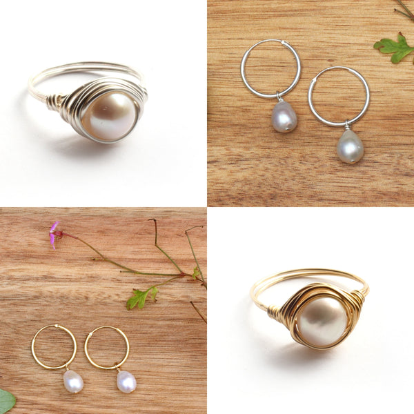 June Birthstone Jewellery - Pearl