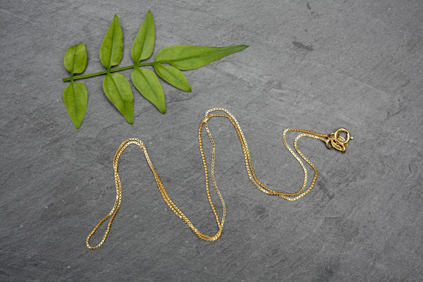 16 inch Simple Fine Gold Filled Chain