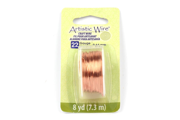 Kerrie Berrie Artistic Craft Wire for Jewellery Making in Bare Copper 18GA 20GA 22GA and 26GA gauges