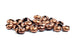 Kerrie Berrie Copper 5mm Crimp Covers for Jewellery Making
