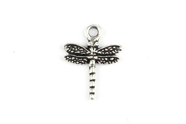 Kerrie Berrie Silver Plated Pewter Tierracast Nature Dragonfly Charm