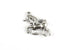 Kerrie Berrie Charms for Jewellery Making Silver Magical Fantasy Unicorn Charm