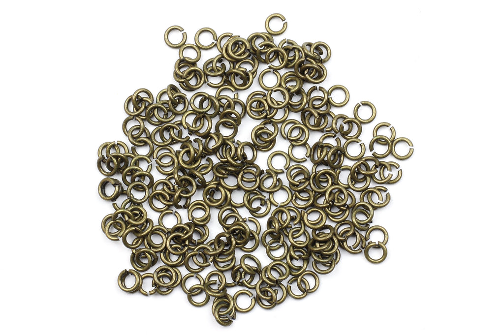 Kerrie Berrie 5mm Brass Open Jump Rings for Jewellery Making
