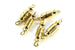 Kerrie Berrie Jewellery Making Gold 18mm Screw Clasp Jewellery Clasps