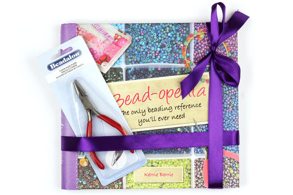 KerrieBerrie Jewellery Making Project Book and Pliers Gift Set