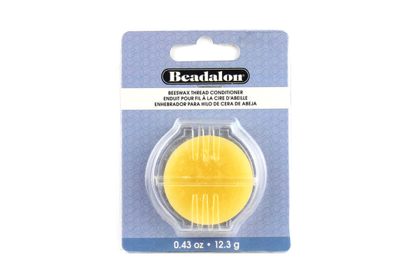 Beeswax Thread Conditioner (Ideal for use when beading)