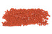 Kerrie Berrie Size 8 Seed Beads for Jewellery Making With UK Delivery in opaque matte terracotta orange