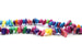 Kerrie Berrie Semi Precious Multi Colour Dyed Shell Chip Beads
