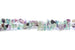 Kerrie Berrie Fluorite Semi Precious Chip Beads Strand for Jewellery Making