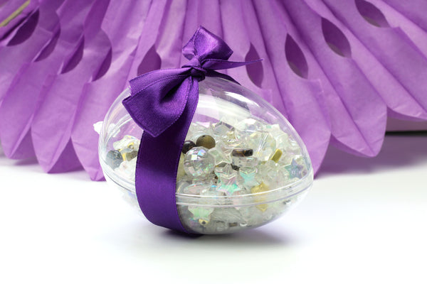 Alternative Easter Present Easter Egg filled with Beads Easter Jewellery Making Kit