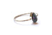 Kerrie Berrie UK Handmade Drusy Jewellery Silver Druzy Stacking Ring