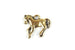 Kerrie Berrie Tierracast Gold Horse Charm for Jewellery Making