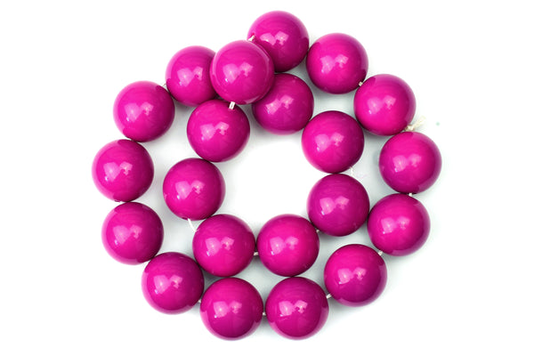 Kerrie Berrie UK Glass Beads for Beading and Jewellery Making in Pink