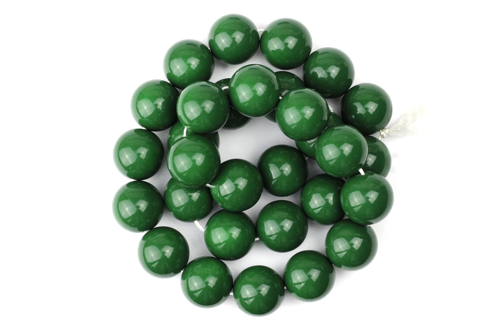 Kerrie Berrie UK Glass Beads for Beading and Jewellery Making in Green
