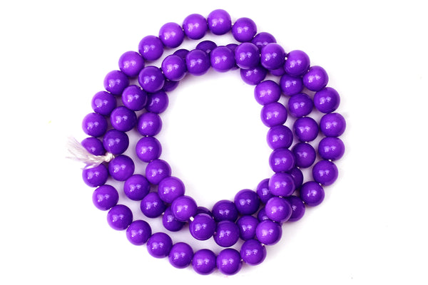 Kerrie Berrie UK Glass Beads for Beading and Jewellery Making in Purple