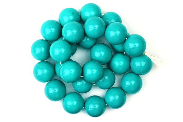 Kerrie Berrie UK Glass Beads for Beading and Jewellery Making in Turquoise Blue
