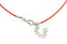 Kerrie Berrie Cotton Cord Ready Made Necklace 16 inch with Extension Chain