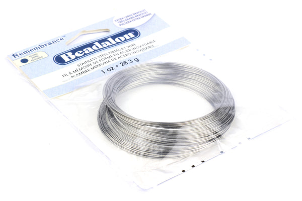 Kerrie Berrie UK Beadalon Memory Wire for Jewellery Making 7cm Bracelet Beading Wire