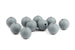 Grey Round Silicone Bead – 15mm