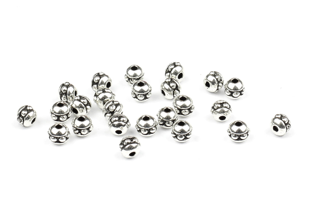 Kerrie Berrie UK Spacer Beads for Jewellery Making in Silver from Tierracast