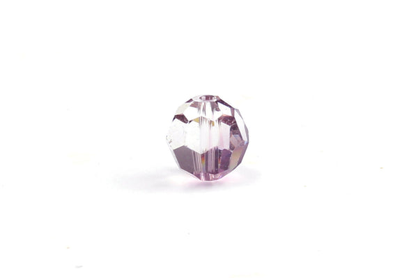 Kerrie Berrie Jewellery Making Supplies Round Swarovski Crystal Bead in Purple