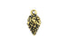 Kerrie Berrie UK Tierracast Gold Bunch of Grapes Charm for Jewellery Making