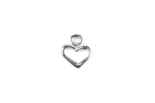 Kerrie Berrie Silver Heart Charm from Tierracast