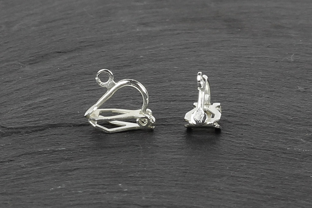 Kerrie Berrie Lever Back Clip On Earrings with Loop for Jewellery Making
