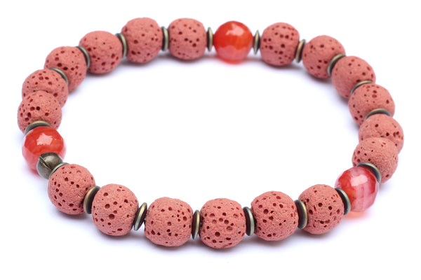 Kerrie Berrie Lava Ball Aromatherapy Diffuser Bracelet