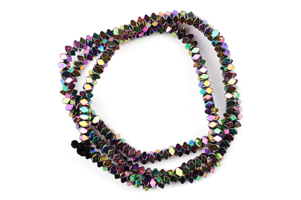 Kerrie Berrie Metallic Hematite Beads for Jewellery Making