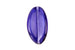 Lilac Handmade Czech Glass Lampwork Bead – 30mm x 15mm