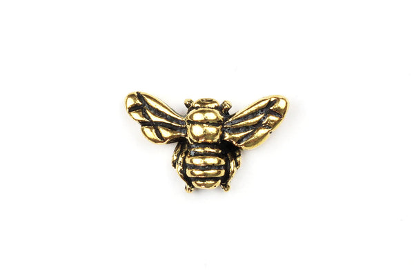 Gold Tierracast Bee Charm