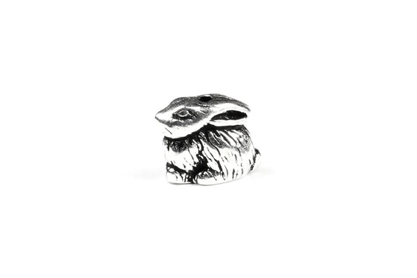 Silver Bunny / Rabbit Bead