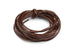 Leather Cord in Dark Brown – 2mm (3m)