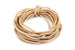 Leather Cord in Natural Tan Brown – 2mm (3m)