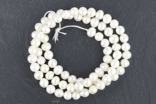 Kerrie Berrie Semi Precious Natural Pearl Beads Strand for Jewellery Making