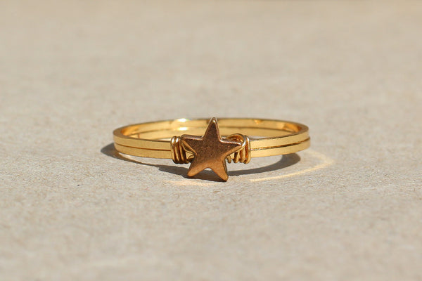 Kerrie Berrie Handmade Ring from Hematite Star Jewellery Collection