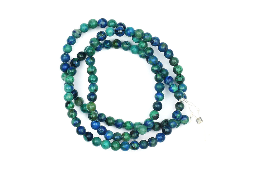 Kerrie Berrie Semi Precious Chrysocolla Beads for Jewellery Making