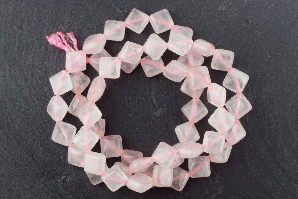Kerrie Berrie Semi Precious Rose Quartz Beads for Jewellery Making
