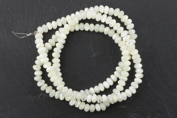 Kerrie Berrie Semi Precious Natural Shell Beads Strand for Jewellery Making