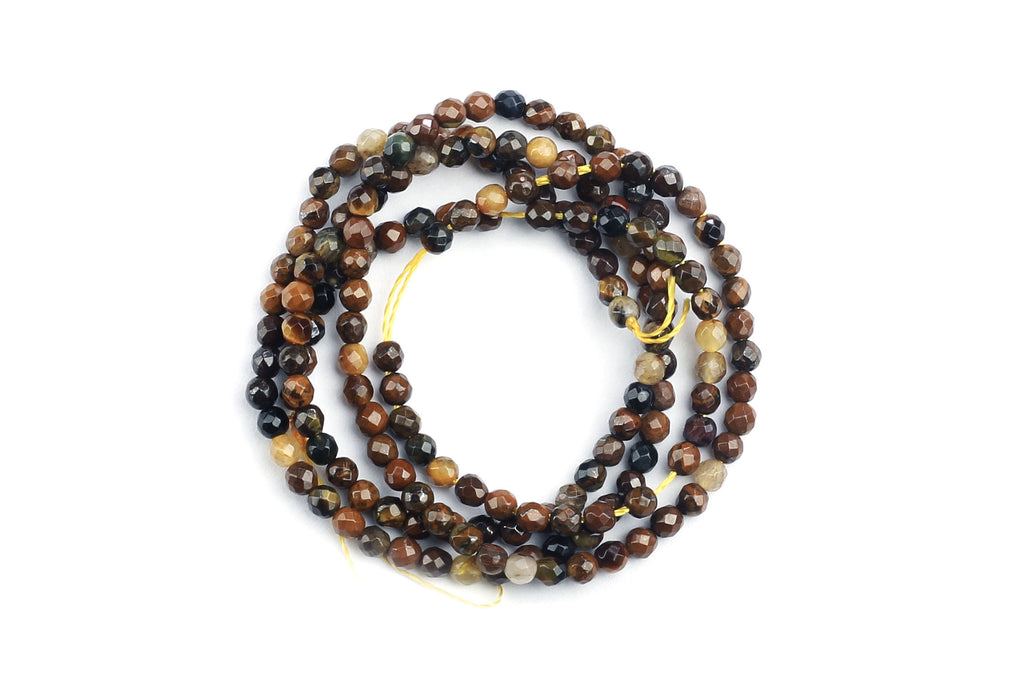 Kerrie Berrie Semi Precious Tiger's Eye Beads for Jewellery Making