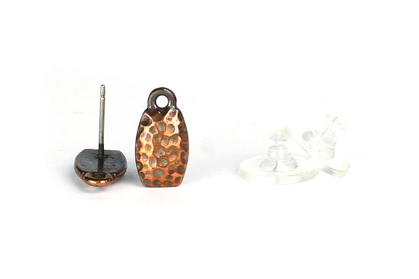 Kerrie Berrie Copper Decorative Studs with Loop