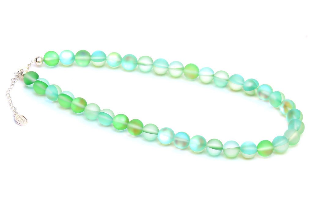 Kerrie Berrie Austrian Glow Glass Bead Necklace in Choice of Colours