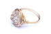 Druzy Crystal Gold Wire-wrapped Ring – CHOICE OF COLOURS