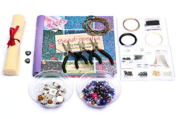 Complete Jewellery Making Starter Kit - Contains everything you need to make your own jewellery!