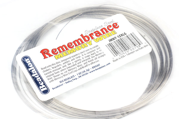 Beadalon Necklace Memory Wire – Extra Large