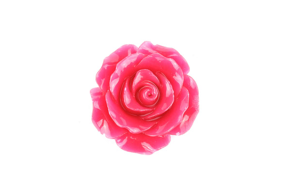 Kerrie Berrie UK Plastic Acrylic Floral Flower Beads for Costume Jewellery Making