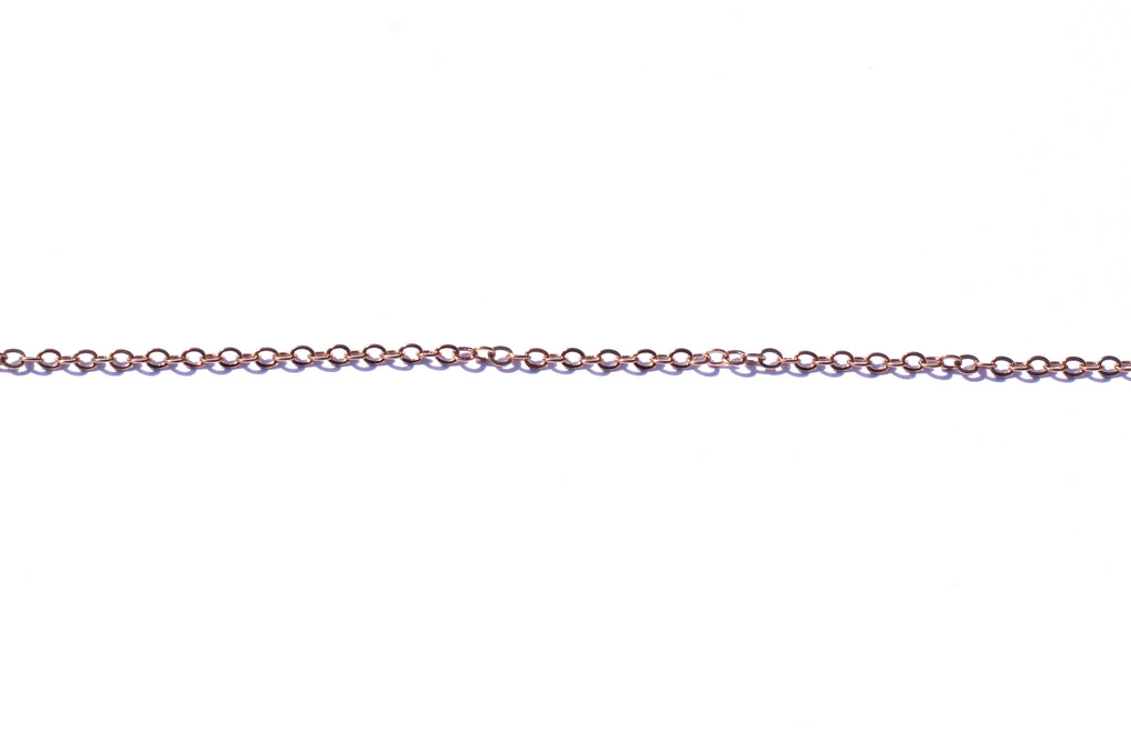 Fine Oval Link Chain - Rose Gold (Tarnish Resistant)