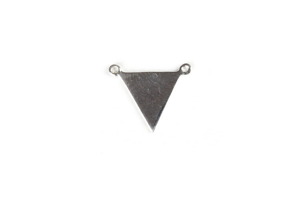Sterling Silver Triangle Pendant / Bail – 15mm x 11mm (1pc)