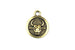 Kerrie Berrie Gold Plated Pewter Tierracast Zodiac Star Sign Horoscope Charm
